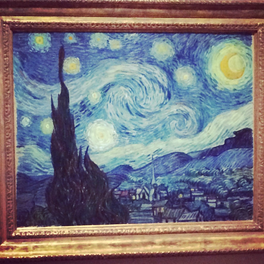 Photo of Van Gogh's Starry Night, 1889