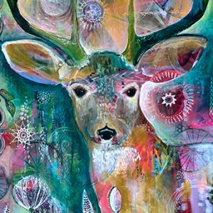 Deer detail Jennifer Currie