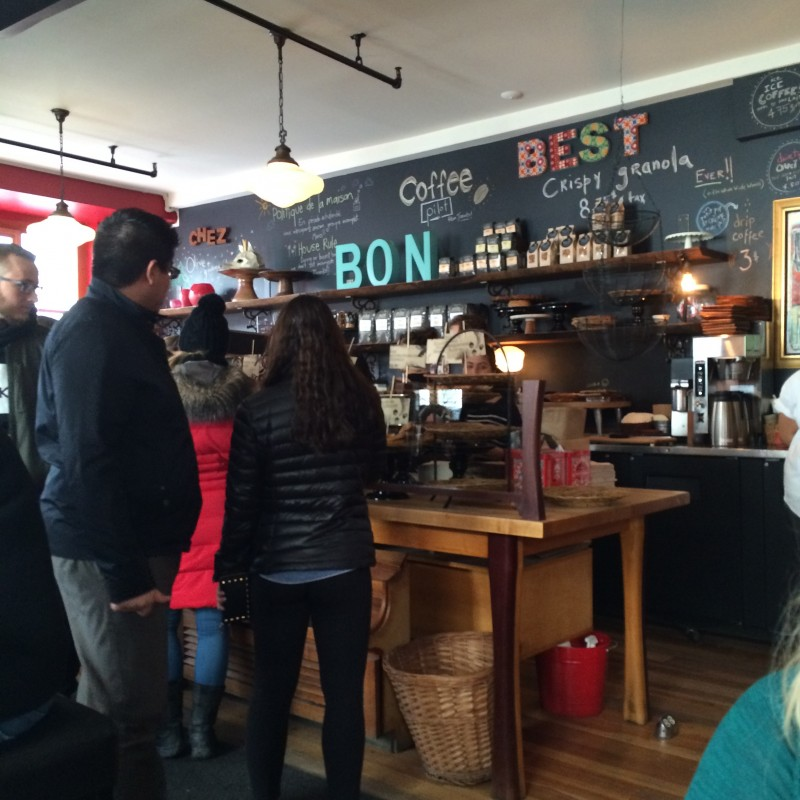 Olive & Gourmando Coffee Shop in Montréal
