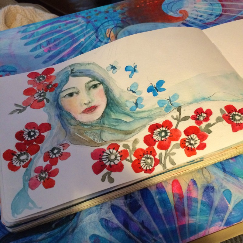 Sketchbook Jennifer Currie