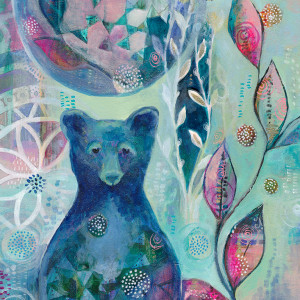 Blue Moon Bear Jennifer Currie