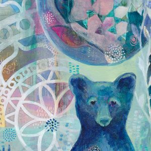 Blue Bear Detail Jennifer Currie