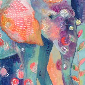 Mama Elephant Detail Jennifer Currie