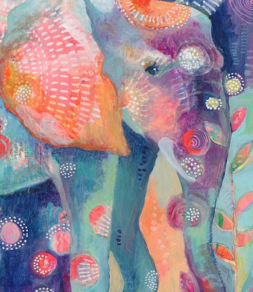 Mama Elephant Detail Jennifer Currie