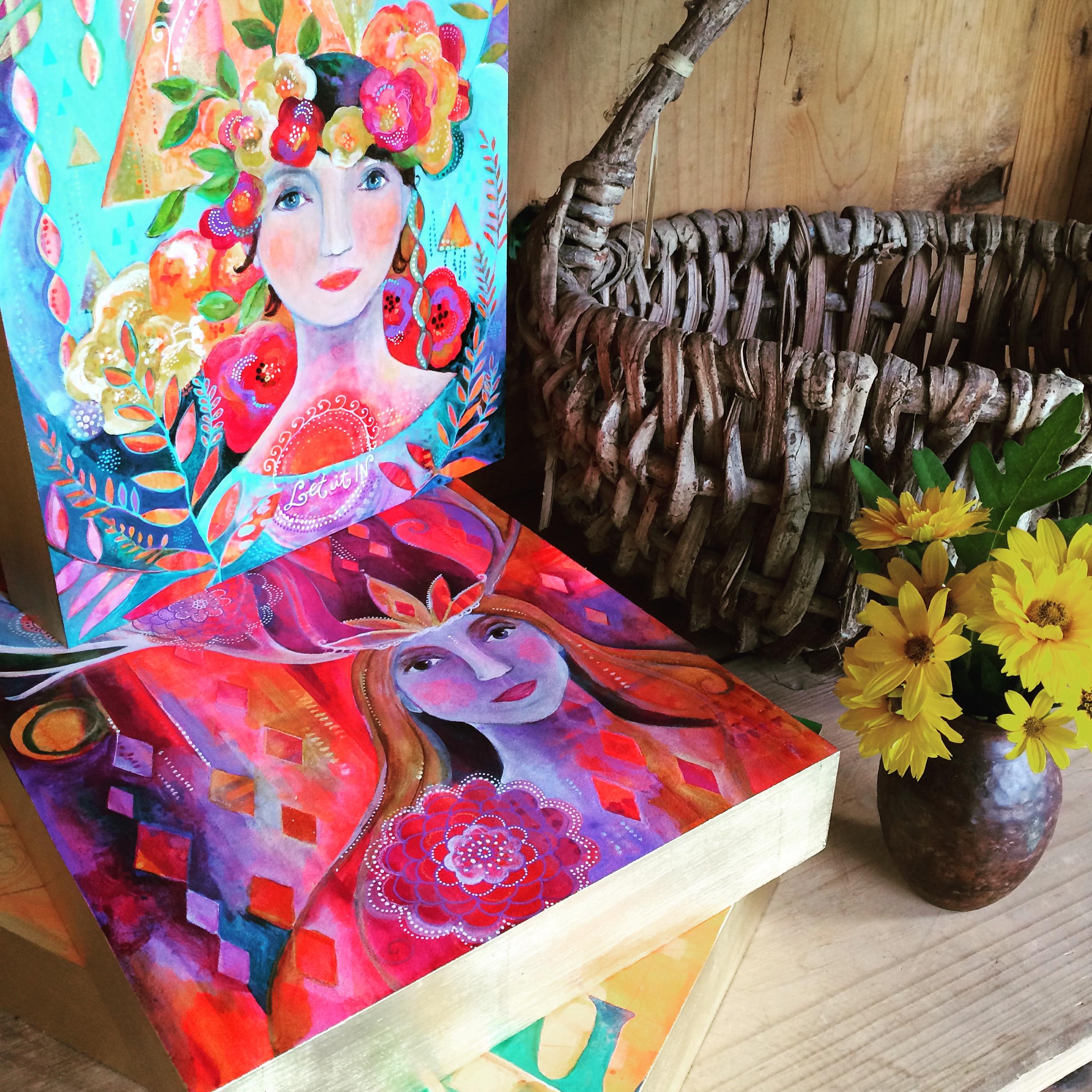 Soul Portrait Paintings