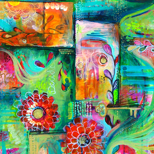 Key Painting by Jennifer Currie